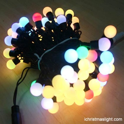 Christmas decorative RGB ball string