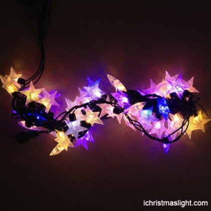 Decorative LED star string lights in China