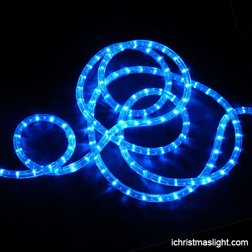 Christmas decorative led blue rope lights ichristmaslight