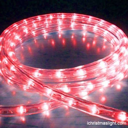 Decorative fancy light LED red rope