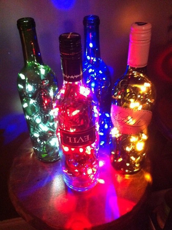 diy wine bottle christmas lights ichristmaslight