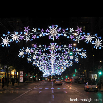 Christmas street light decoration supplies