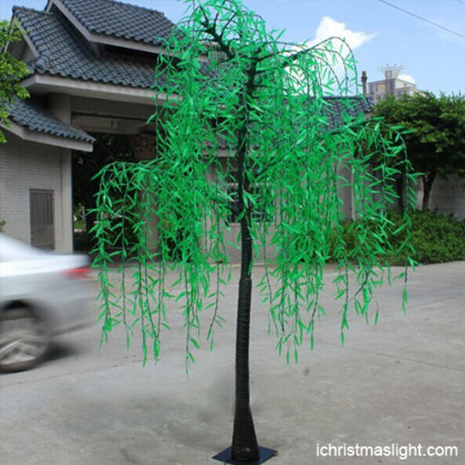 Christmas LED lighted willow tree lamp
