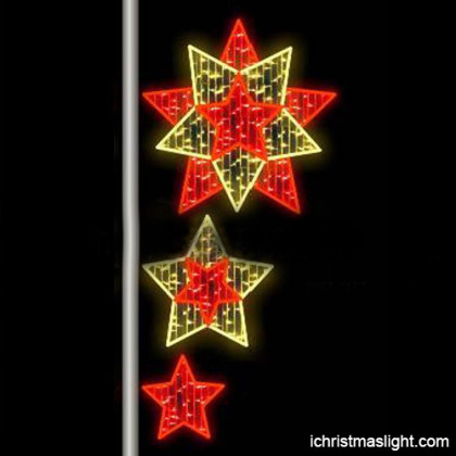 Hand made outdoor LED motif light in China