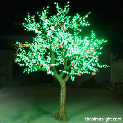 Artificial indoor cherry blossom tree led lights