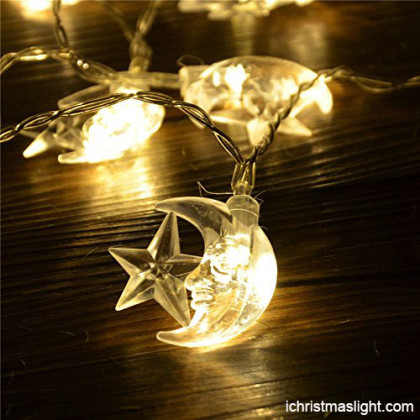 Ramadan decoration gold LED string lights