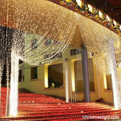 Wedding backdrop decoration curtain lights