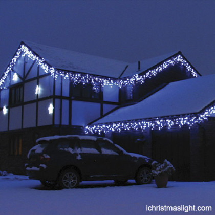 Outdoor house decorative LED icicle lights