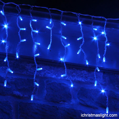 Blue icicle light manufacturer in China