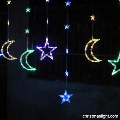 Multicolor lighted hanging home decoration