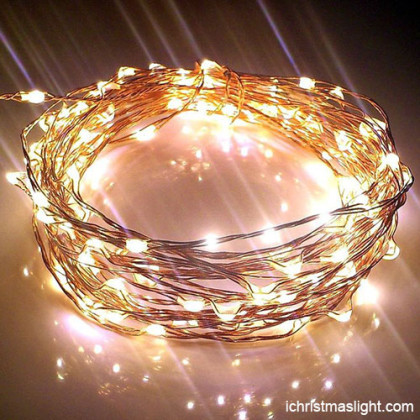 Copper wire starry fairy lights made in China