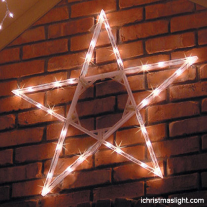 LED outdoor light star house decoration