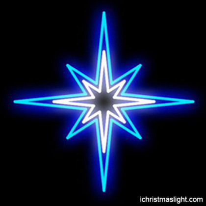 Christmas decoration light star supplier