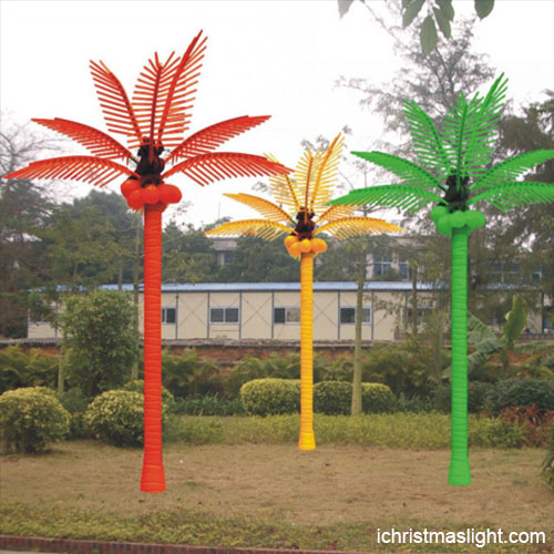 Landscape Lighting For Palm Trees : Outdoor landscape led lighted palm tree ichristmaslight