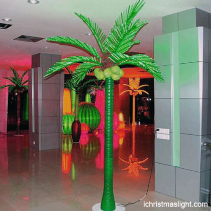 LED coconut palm tree light made in China