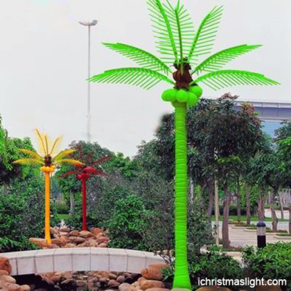 Artificial palm tree with led light supplier