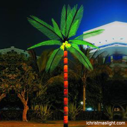 Lighted palm trees manufacturer in China