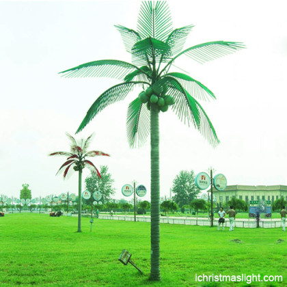 Customized outdoor LED palm trees for sale