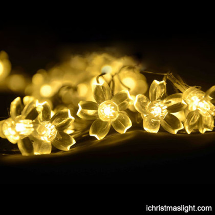 LED flower string lights made in China
