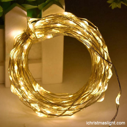 Warm LED Christmas lights made in China