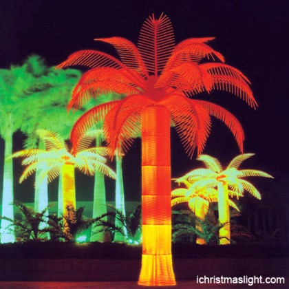 Palm tree christmas lights made in China