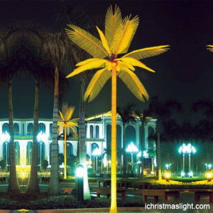 Outdoor palm tree lights supplier in China