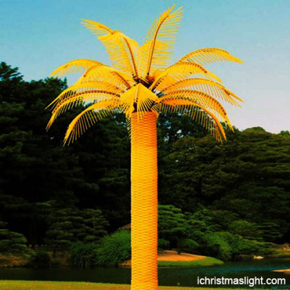 Outdoor tree lighting palm tree lamps