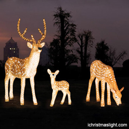 Christmas decoration LED light reindeer