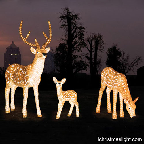 Outdoor Christmas Lights Animals