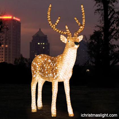 LED reindeers for christmas made in China