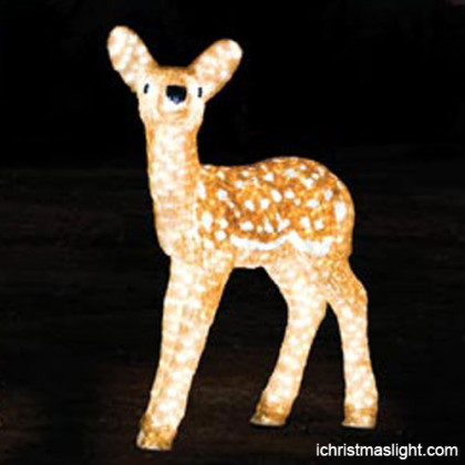 Acrylic christmas reindeer manufacturer
