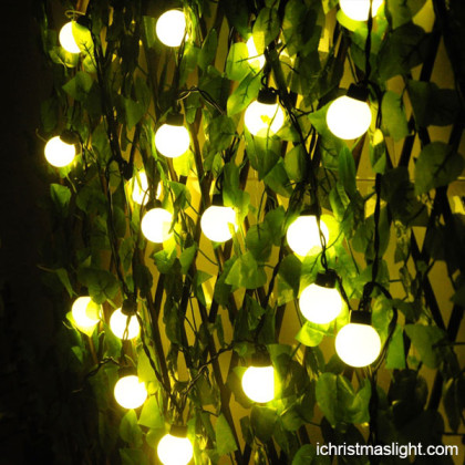 Holiday decorative LED ball string light