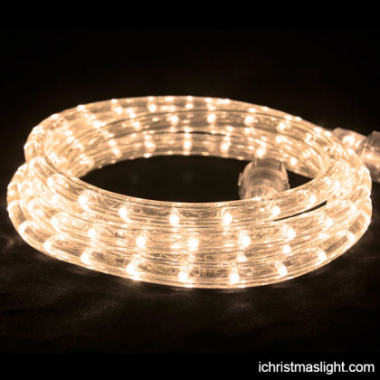 Warm white led rope light factory in China