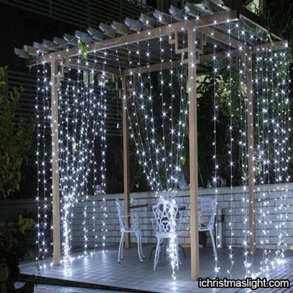 Wholesale Christmas lights curtain supply