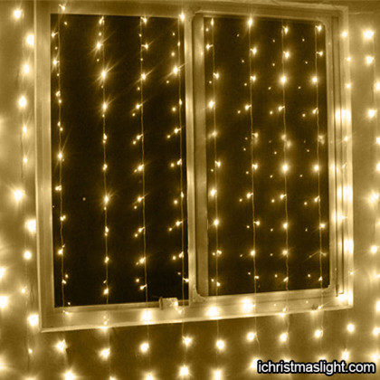 LED curtain christmas lights manufacturer