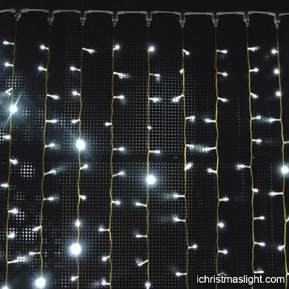 Customized LED lighted christmas curtains