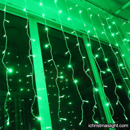 Curtain lights christmas decoration ideas