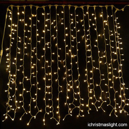 LED christmas curtain lights factory in China
