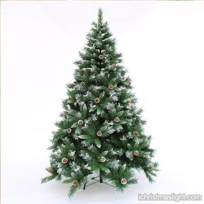 wholesale flocked artificial christmas trees ichristmaslight. Black Bedroom Furniture Sets. Home Design Ideas