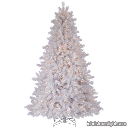 white artificial christmas trees sale in China
