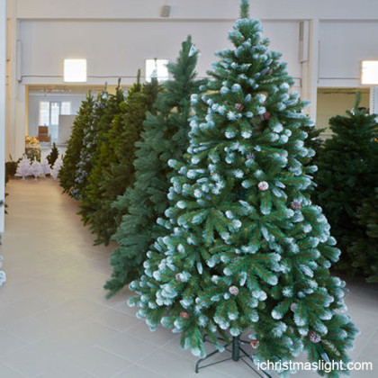 Pre lit artificial christmas tree manufacturer