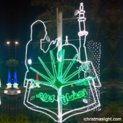 Street LED motif ramadan lights for sale