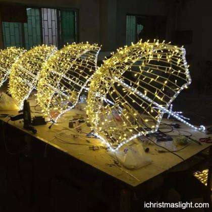Christmas decorating ideas LED umbrella