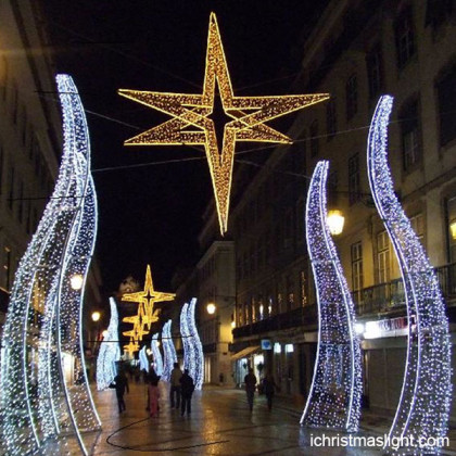 Lighted outdoor decorations for christmas