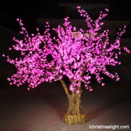 Cherry blossom pre lit led tree wholesale