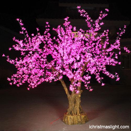 Light Pink Christmas Lights