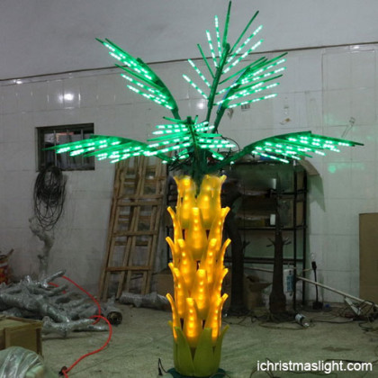 Wholesale led lighted palm trees for outside