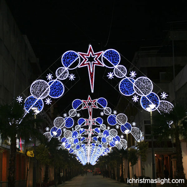 Commercial christmas decorations for street