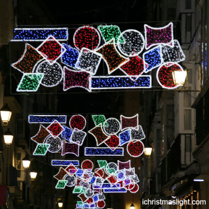 Holiday street motif LED decorative lighting