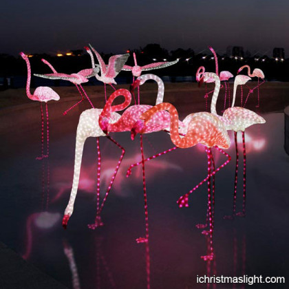 LED Christmas pink flamingo manufacturer